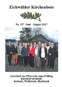 Kirchenbote Juni-August 2017
