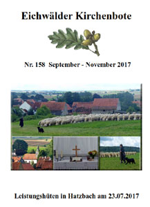 Kirchenbote September-November 2017